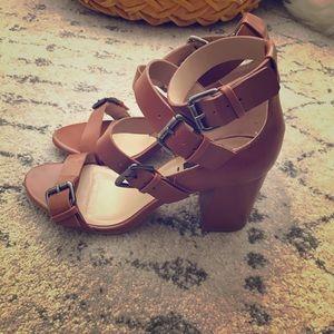 Zara buckle sandals